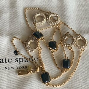 Kate Spade! Crystal Scatter Necklace